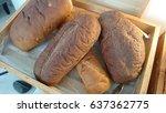 bread   Shutterstock . vector #637362775