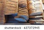 bread slice   Shutterstock . vector #637372945