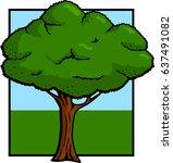 tree | Shutterstock .eps vector #637491082
