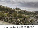 veliko tarnovo  bulgaria   view ...   Shutterstock . vector #637518856