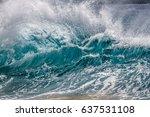 Big Shore Break Splash Up Ocea...