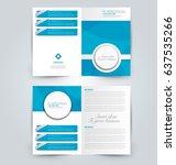 abstract flyer design... | Shutterstock .eps vector #637535266