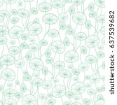 vector mint green and white... | Shutterstock .eps vector #637539682
