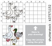 copy the picture using grid... | Shutterstock .eps vector #637571152