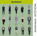 business people lifestyle... | Shutterstock . vector #637576546