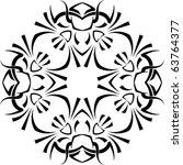 tribal tattoo | Shutterstock .eps vector #63764377