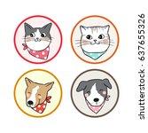 vector illustration icon design ...   Shutterstock .eps vector #637655326