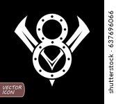 v8 engine logo | Shutterstock .eps vector #637696066
