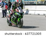 assen netherlands   april 29.... | Shutterstock . vector #637721305