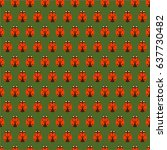 illustration of a pattern with... | Shutterstock .eps vector #637730482