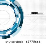 mechanical abstract background  ... | Shutterstock .eps vector #63775666