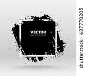 black grunge abstract...   Shutterstock .eps vector #637770205