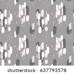 abstract geometric seamless... | Shutterstock .eps vector #637793578