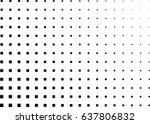 abstract halftone dotted... | Shutterstock .eps vector #637806832