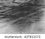 wet asphalt road texture | Shutterstock . vector #637812172