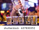 an alcoholic strong drink  is... | Shutterstock . vector #637830352