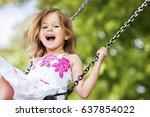 child. | Shutterstock . vector #637854022