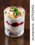 berry dessert | Shutterstock . vector #637933402