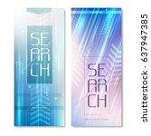 search radar vertical banners...