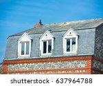 photo of beautiful roof of one... | Shutterstock . vector #637964788