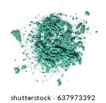 eye shadow isolated on white... | Shutterstock . vector #637973392