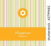 greeting card | Shutterstock .eps vector #63799681