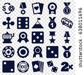 win icons set. set of 25 win... | Shutterstock .eps vector #638011696