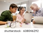 education  science  technology  ... | Shutterstock . vector #638046292