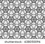 Monochrome Seamless Pattern....