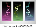 abstract wave background... | Shutterstock .eps vector #638058628