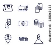 payment icons set. set of 9...   Shutterstock .eps vector #638069155