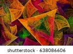 fractal art background for...   Shutterstock . vector #638086606