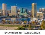 october 28  2016   baltimore... | Shutterstock . vector #638103526