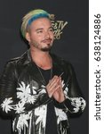los angeles   may 7   j balvin... | Shutterstock . vector #638124886