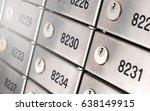 safety deposit box wallpaper.... | Shutterstock . vector #638149915