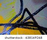 mixed media   art   multicolor... | Shutterstock . vector #638169268