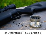 Small photo of airgun and pellet