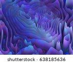 abstract  extraterrestrial... | Shutterstock . vector #638185636