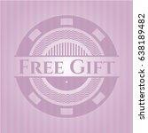 free gift realistic pink emblem