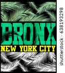 new york bronx t shirt design | Shutterstock .eps vector #638193298