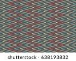 seamless wavy stripes pattern | Shutterstock .eps vector #638193832