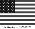 flag of the united states of... | Shutterstock . vector #638201902