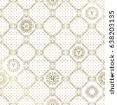 seamless  pattern from classic... | Shutterstock .eps vector #638203135