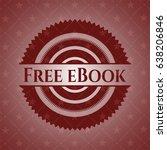 free ebook red emblem. retro