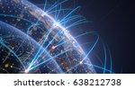 global network concept...   Shutterstock . vector #638212738