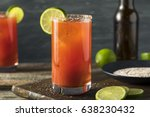Homemade Michelada With Beer...