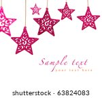 Bright Pink Christmas Ornament...