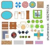 cartoon landscape design... | Shutterstock .eps vector #638290156