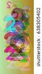 2 number design template | Shutterstock .eps vector #638305402
