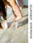 legs of the ballerina | Shutterstock . vector #638326732